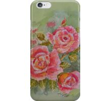PINK POSY  I PAD CASES/PHONECASE,TEE SHIRT,STICKER/ART iPhone Case/Skin