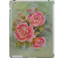 PINK POSY  I PAD CASES/PHONECASE,TEE SHIRT,STICKER/ART iPad Case/Skin