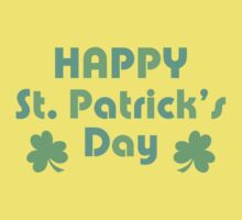 Happy St. Patrick's Day Baby Tee