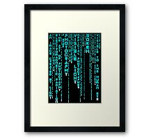 Photography Blue Framed Print