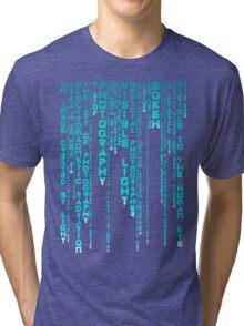 Photography Blue Tri-blend T-Shirt
