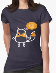 YOLO OWL Womens Fitted T-Shirt