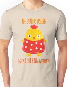 CLUCKING AWESOME VEGAN Unisex T-Shirt
