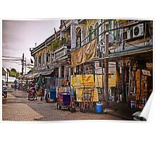 A Bangkok Street, Thailand Poster