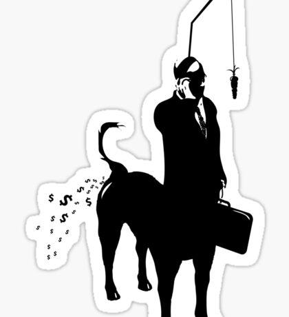 Yupptaur Slave Gimp  Sticker