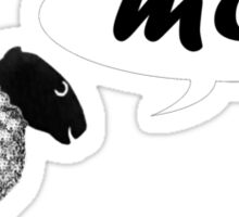 Moo Sticker