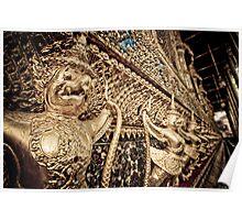 Wat Phra Kaew, Bangkok Thailand Poster