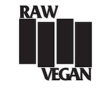 RAW VEGAN FLAG Photographic Print