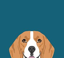 Lennon - Beagle gifts for pet owners and dog person with a beagle by PetFriendly