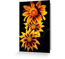 Fabulous Yellow Flower Greeting Card