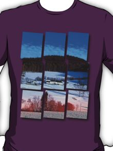 A sunny afternoon in winter wonderland | landscape photography T-Shirt