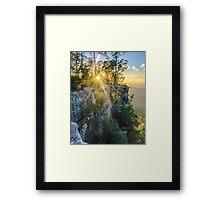 Carnarvon Sunburst Framed Print