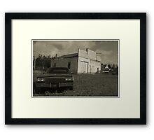 Modern decay Framed Print