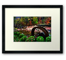 Fall Garden Framed Print