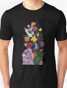 Aso-Oke and flowers- still-life Unisex T-Shirt