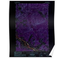 Maine USGS Historical Map Lille 105282 1986 24000 Inversion Poster