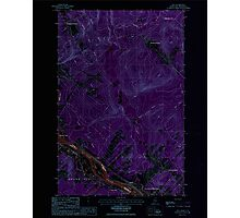 Maine USGS Historical Map Lille 105282 1986 24000 Inversion Photographic Print