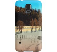 Hiking on a winter afternoon | landscape photography Samsung Galaxy Case/Skin