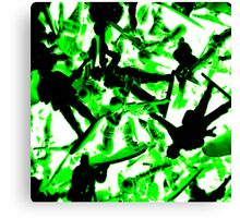 Toy Soldiers (abstract) Canvas Print