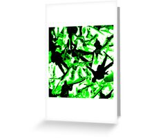 Toy Soldiers (abstract) Greeting Card