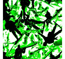 Toy Soldiers (abstract) Photographic Print