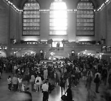 Grand Central ticket hall, NYC. by liqwidrok