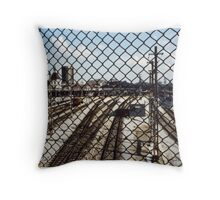 Basel Train station  Throw Pillow