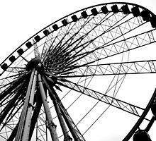 Liverpool Wheel Silhouette by James Harrison