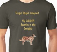 Golden Retrievers Sparkle Unisex T-Shirt