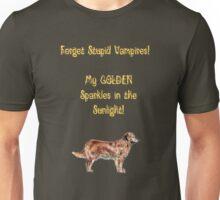 Golden Retrievers Sparkle Unisex T-Shirt