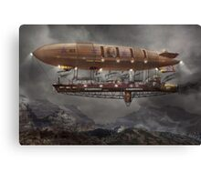 Steampunk - Blimp - Airship Maximus  Canvas Print