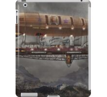 Steampunk - Blimp - Airship Maximus  iPad Case/Skin