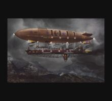 Steampunk - Blimp - Airship Maximus  T-Shirt