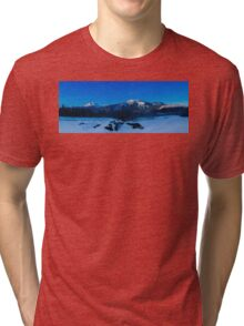 MT Begbie one winter morning  Tri-blend T-Shirt