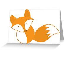 simple FOX Greeting Card