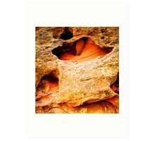 Along the Burr Trail Art Print