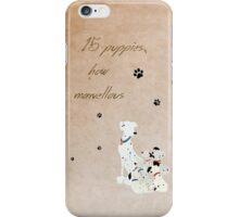 101 Dalmatians inspired Mother's Day design. iPhone Case/Skin