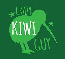 Crazy KIWI Guy by jazzydevil