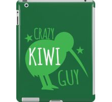 Crazy KIWI Guy iPad Case/Skin