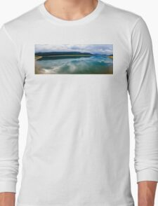 12 mile lake view  Long Sleeve T-Shirt