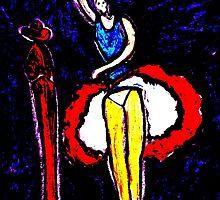 Flamenco by sword