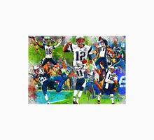 New England Patriots 2015 Super Bowl Champions Collage Unisex T-Shirt