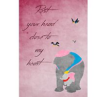 Dumbo inspired Mother's Day design. Photographic Print