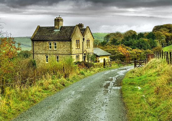 Water House near Darwen, Lancashire by Steve  Liptrot