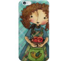 Toni Loves Gardening iPhone Case/Skin