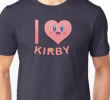 I Heart Kirby Unisex T-Shirt