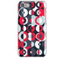 Simultaneous Discs iPhone Case/Skin
