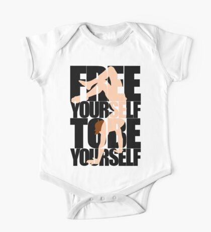 Free Yourself Handstand Man One Piece - Short Sleeve