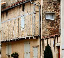 Medieval Village - Nanteuil by Pamela Jayne Smith