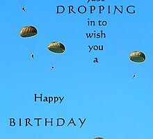 Dropping in to wish you a happy birthday! by trwphotography